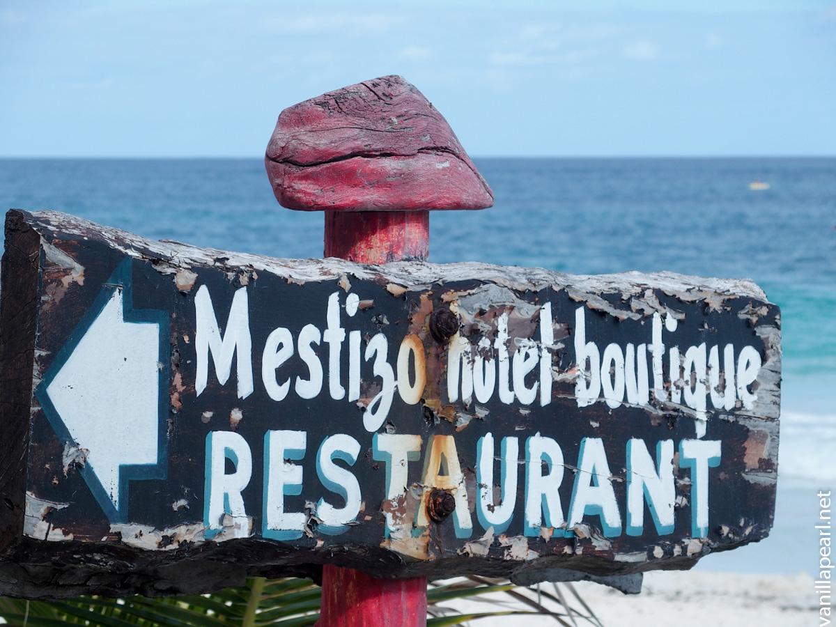 Beach Hotel Mestizo Restaurant