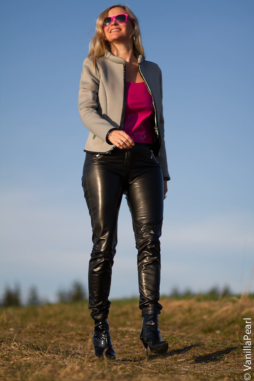 Leather pants from Arcanumfashion Be a star with leather pants made by Christina