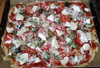Pizza Vanilla made by Christina