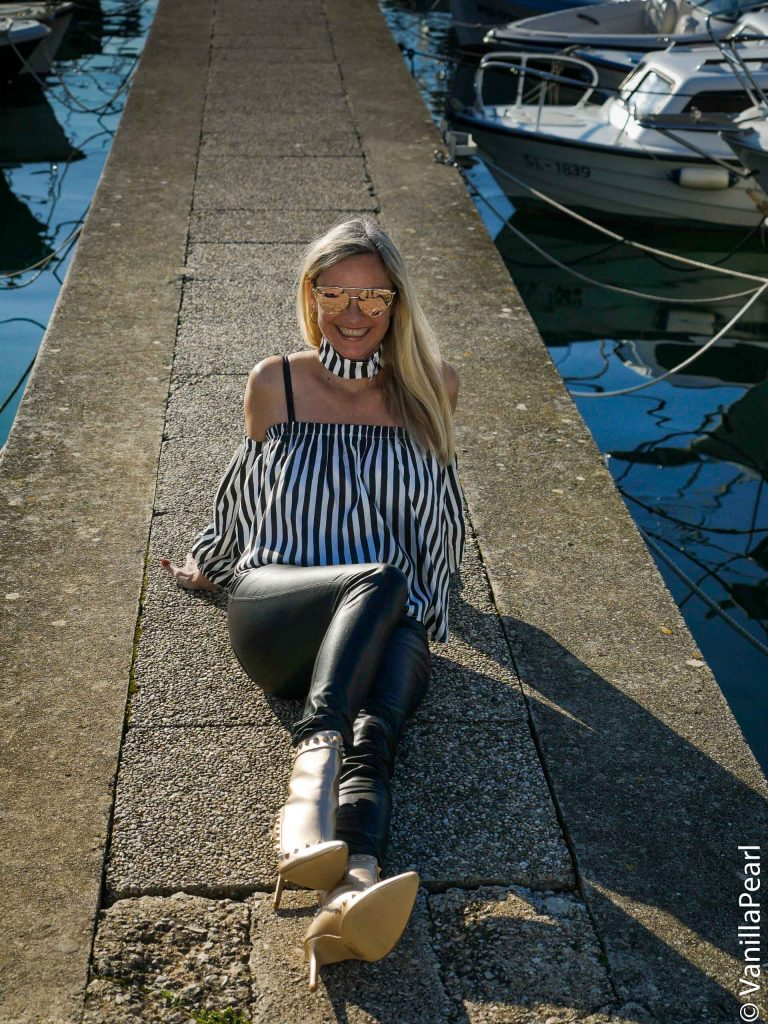 Christina in Porec, Croatia