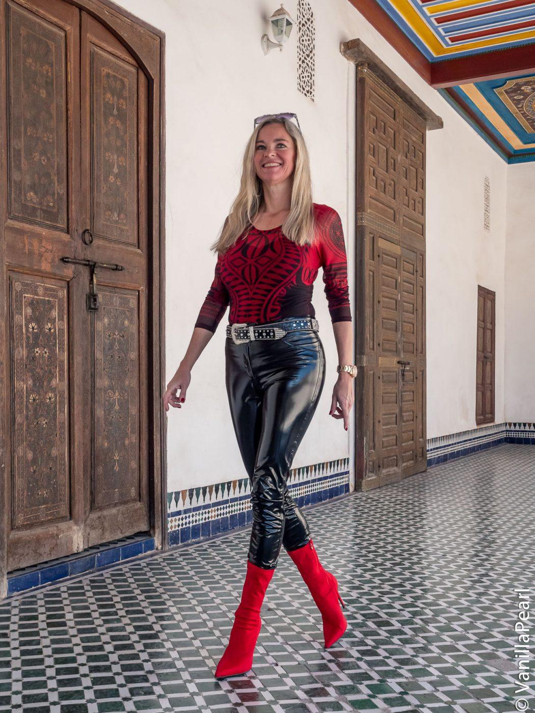 Christina in Marrakesch
