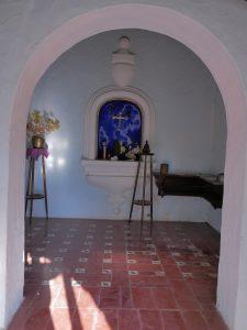 Kapelle bei der Traumvilla in La Cumbre Cordoba Argentinien