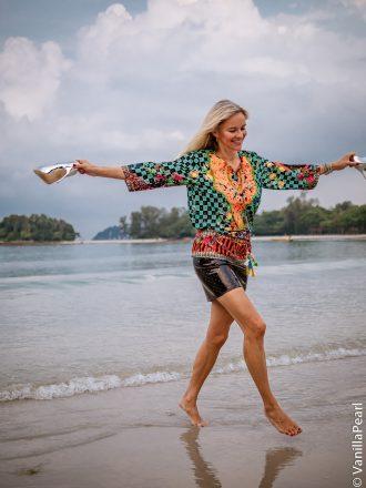 Christina in Bintan