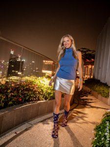 Christina in Singapore