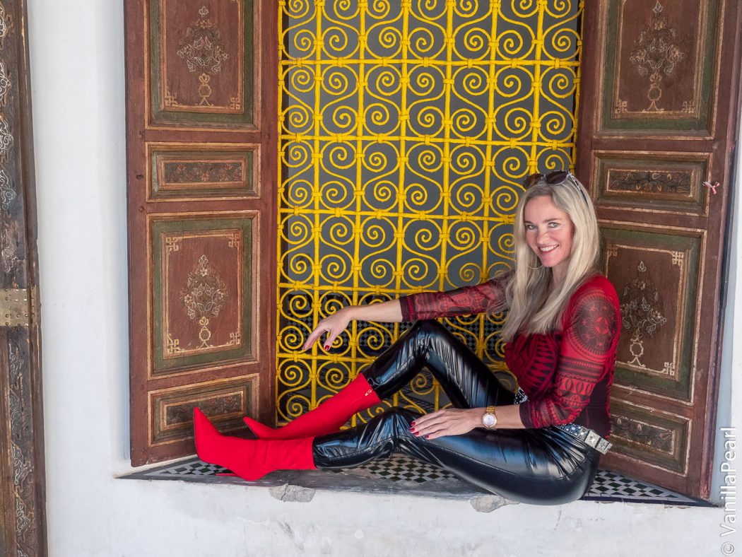 Christina in Marrakesh